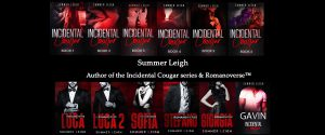 New 2020 Author Summer leigh banner of both series